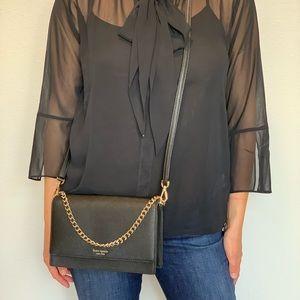 Kate Spade Black Crossbody Bag/ Wristlet